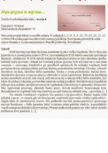 Język polski 1 sprawdziany chomikuj