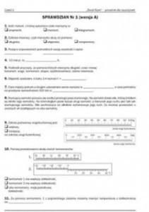 Matematyka 3 sprawdziany pobierz